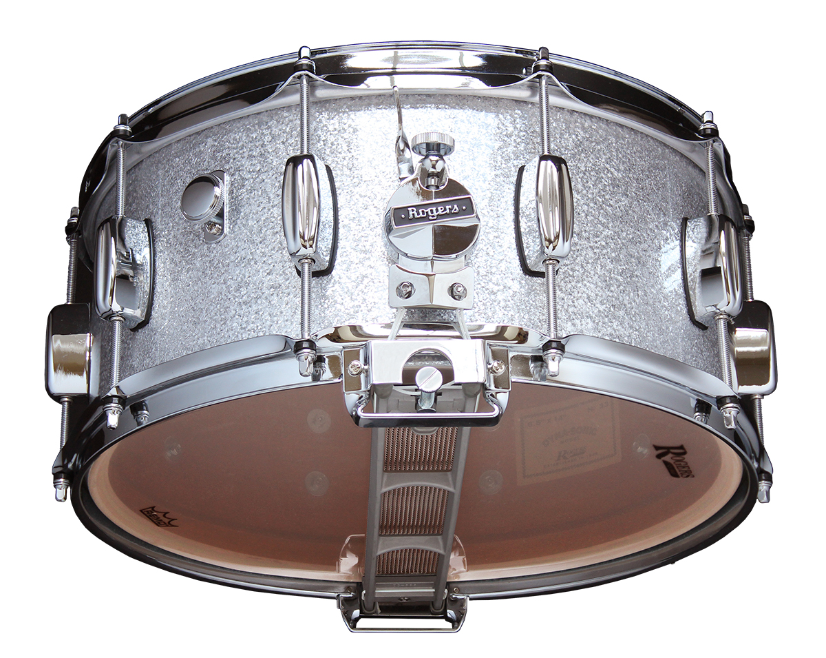 Rogers Drums USA | Model No. 33-SS Dyna-Sonic Snare Drum